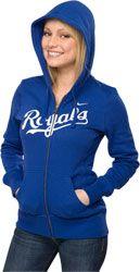 Kansas City Royals Nike Women's Full-Zip Wordmark Hoodie $54.99 http://shop.baseballhall.org/Kansas-City-Royals-Nike-Womens-Full-Zip-Wordmark-Hoodie-_-67091928_PD.html?social=pinterest_pfid32-24464