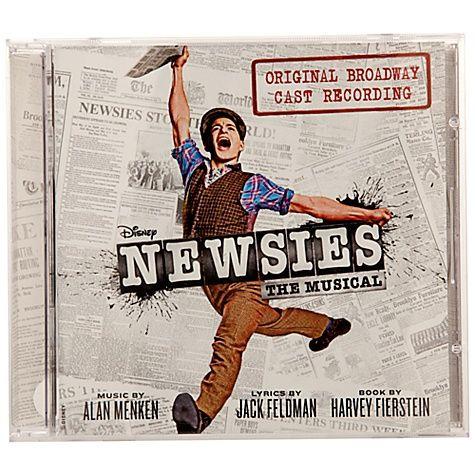 Original Broadway Cast Recording Newsies The Musical CD