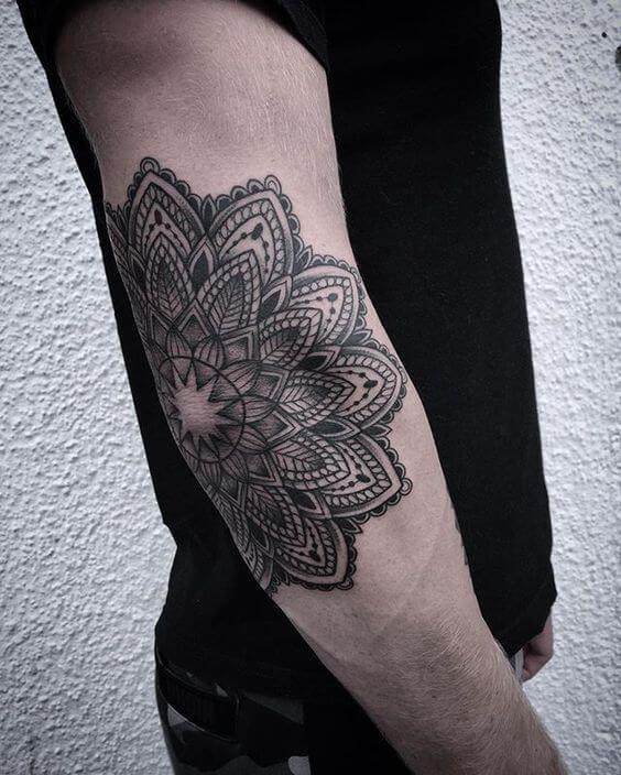 Mandala Tattoos For Men Tattoos For Guys Elbow Tattoos Tattoos