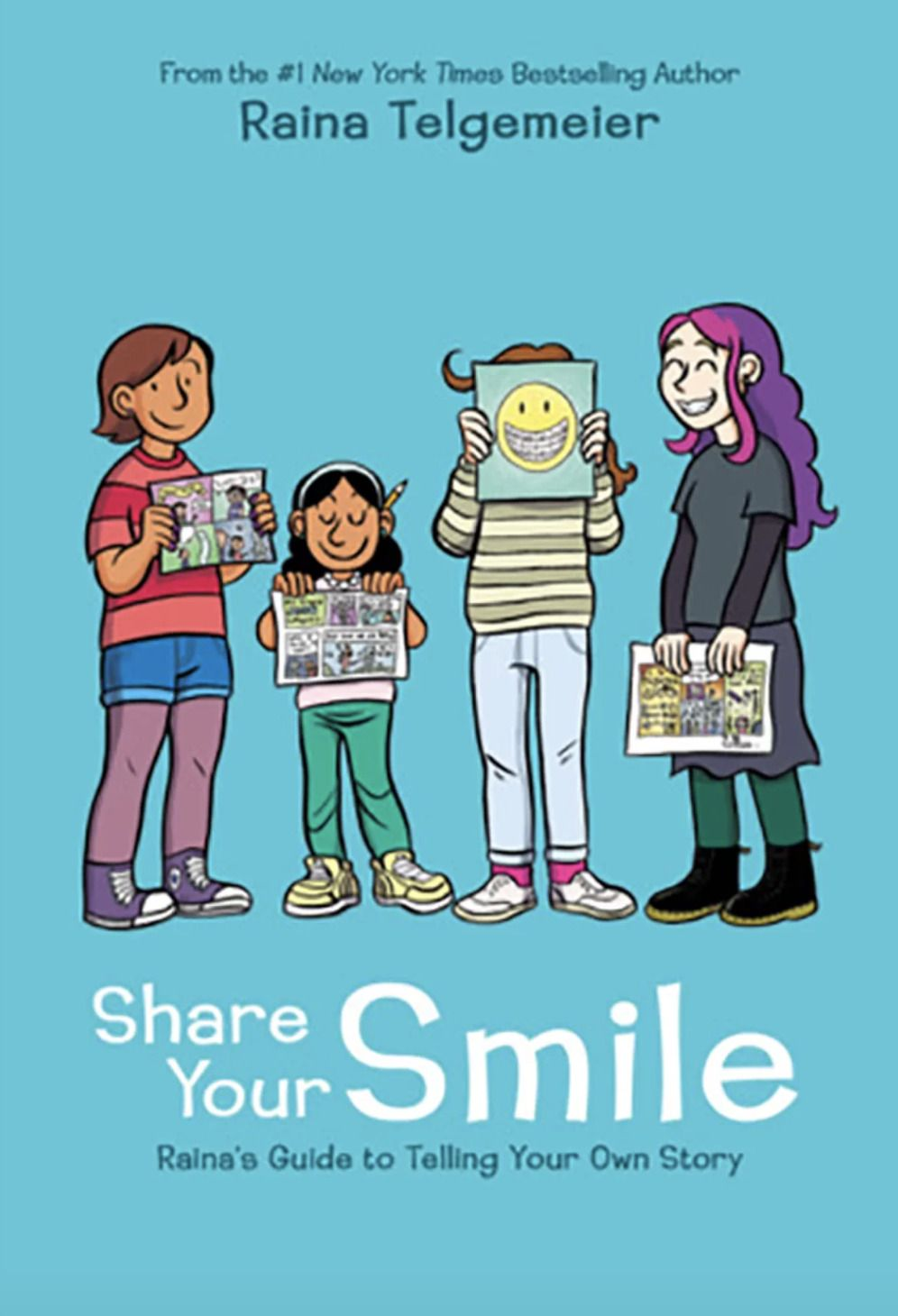 Pdf Download Share Your Smile Raina S Guide To Telling Your Own
