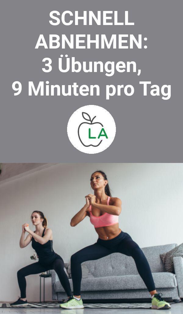 Wer schnell Fett verlieren will, muss sich gesund ernähren und Krafttrainingsma ...   - Fitness und...