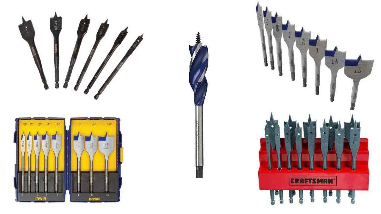 Top 5 Best Spade Bit Sets Reviews 2016 Spade Drill Bit Sizes Spade Drill Drill Bit Sizes Drill Spade