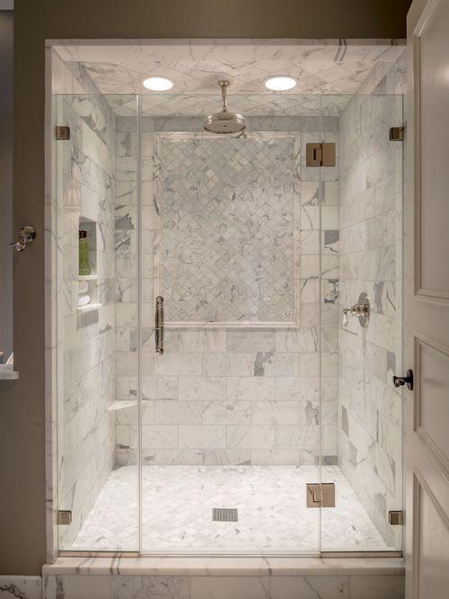 Houzz  Luxury Showers Design Ideas  Remodel Pictures  Master bathrooms in 2019  Bathroom