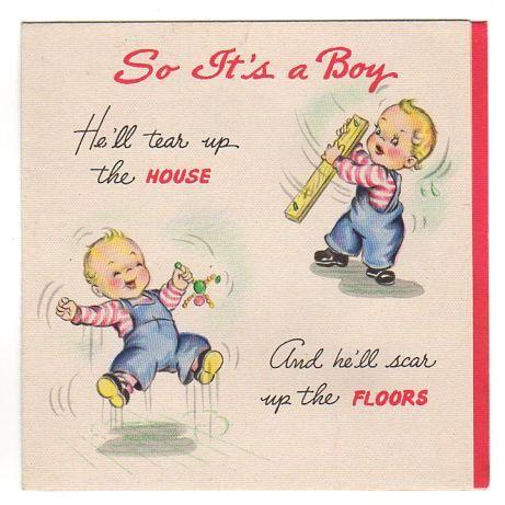 Hallmark Baby Boy Card Hello Handsome Medium