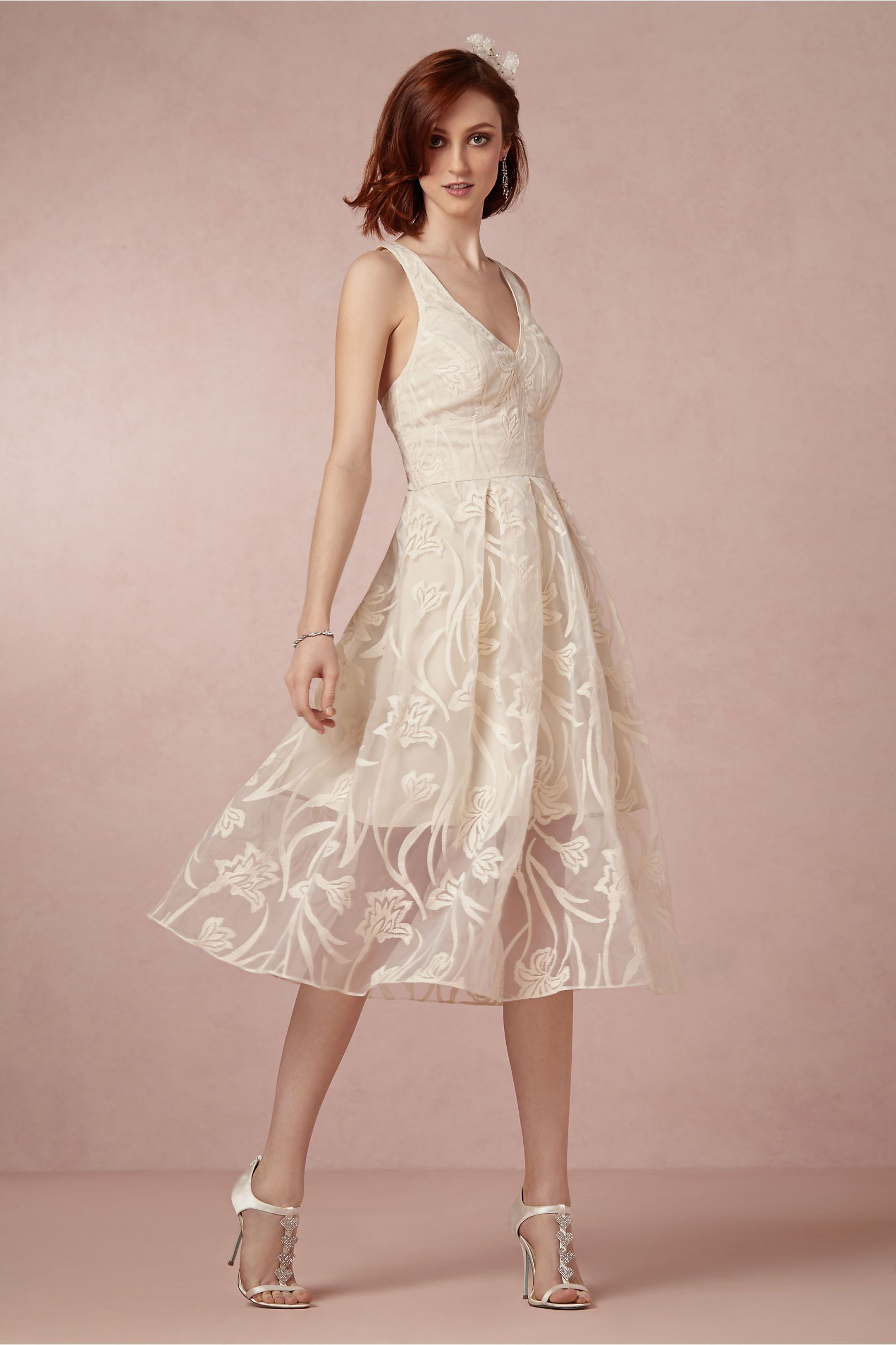 Fresh Blossoms Dress from BHLDN | Wedding | Pinterest | Ropa modesta ...