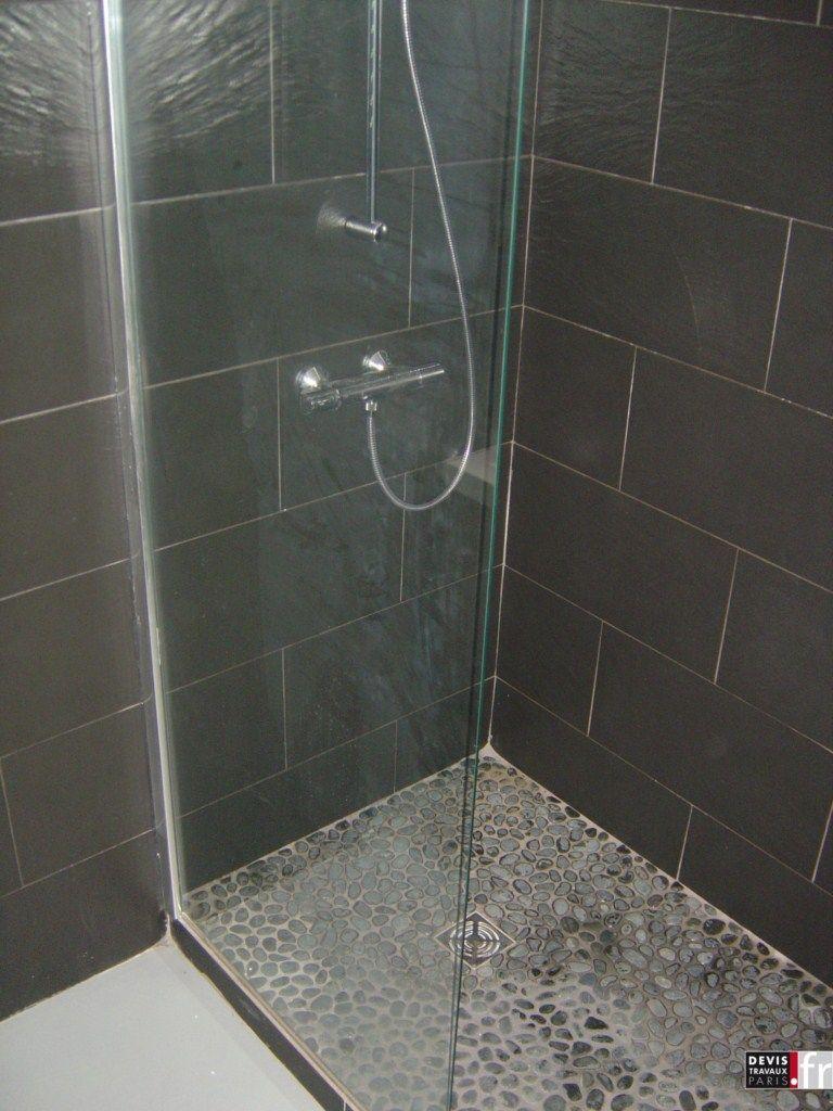 Salle De Bain Marron Et Vert ~ salle de bain classique contemporaine douche l italienne