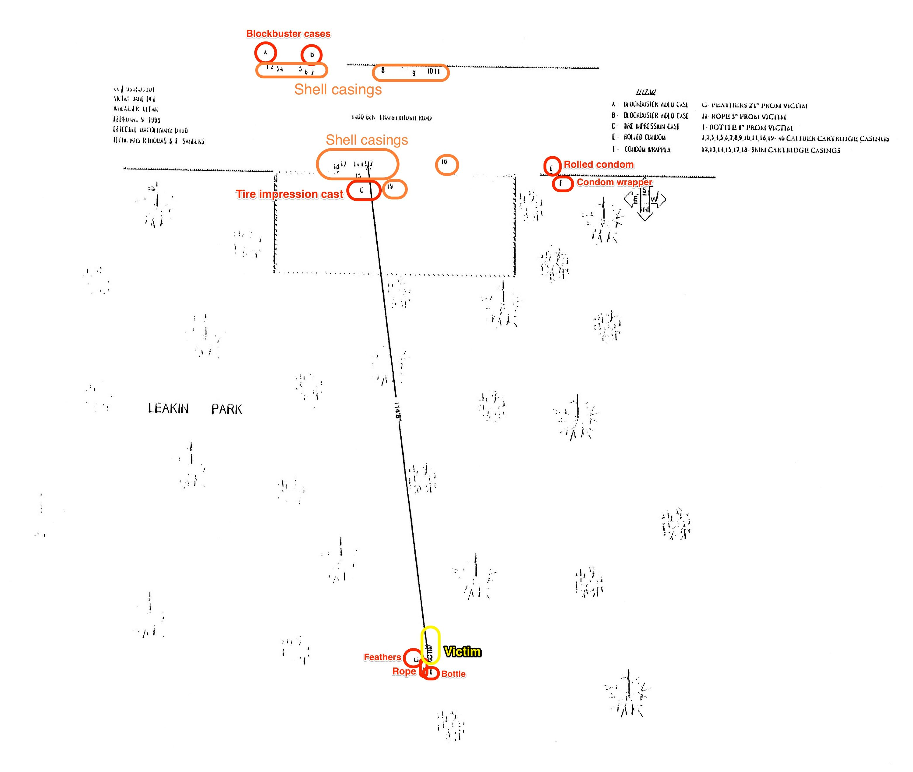 Anyone else obsessed with Serial? Here is a timeline and Maps