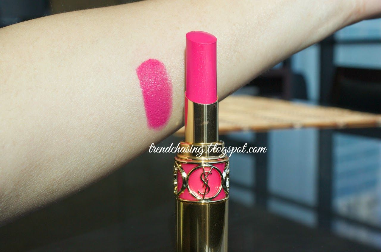 YSL LIPSTICK 31 Fuchsia Storm Lipstick, Ysl, Makeup