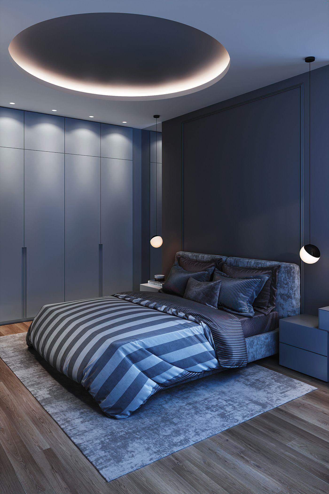 M A S T E R B E D R O O M On Behance Bedroom False Ceiling Design Ceiling Design Bedroom Modern Luxury Bedroom