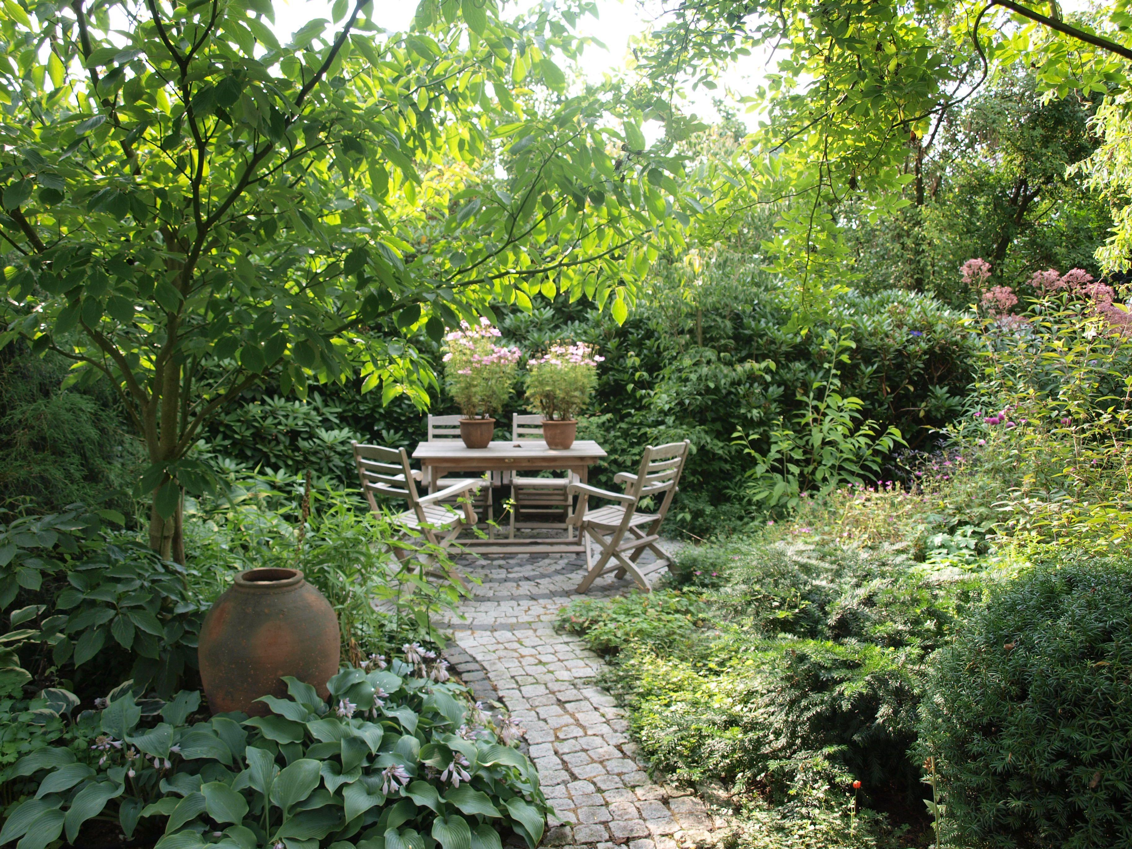 Inspirierend Sitzplatz Garten Sammlung Von Offener Edeltraud Woytas, Motiv