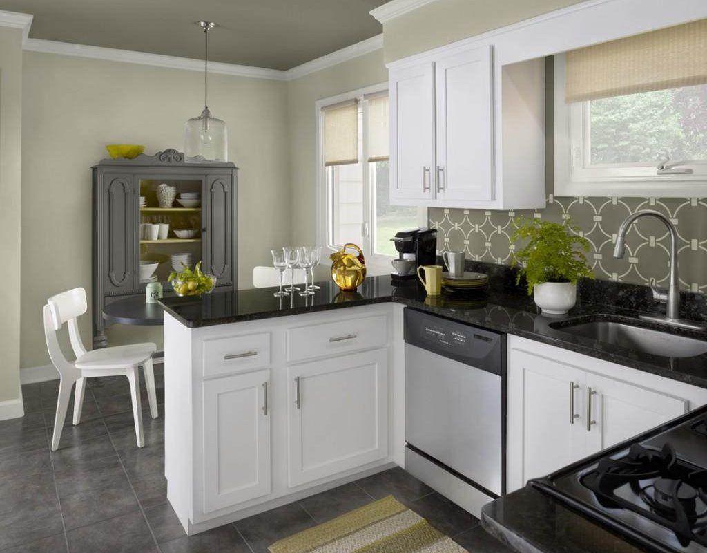 Brilliant Color Schemes For 2019 Small Kitchens Pick Your Favorite White Kitchen Design Best Kitchen Cabinets Kitchen Design