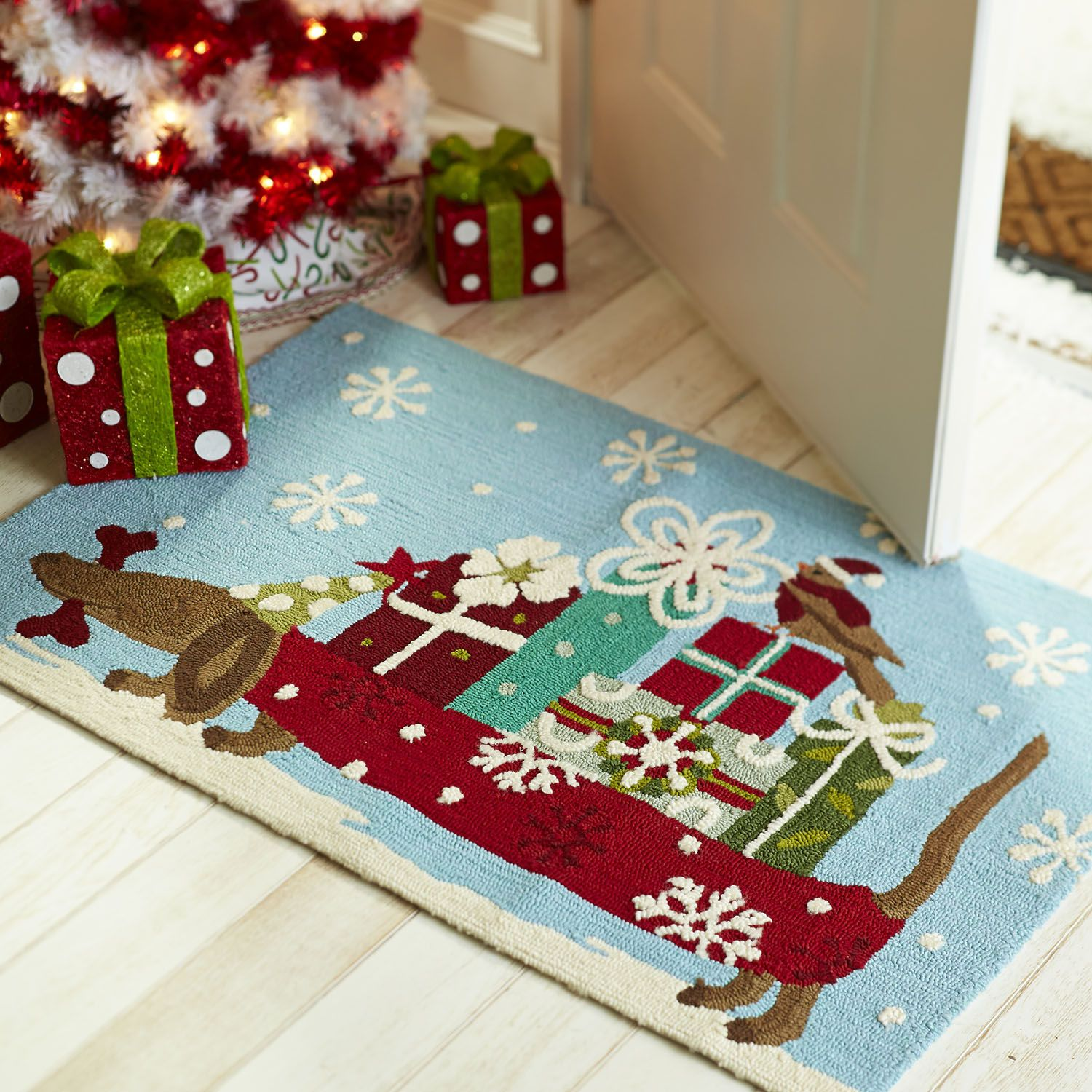 Doggy Packages Rug Dachshund Dreams Pinterest