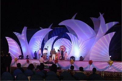 Stage Decoration Large Shapes Lighting Backdrop Stage