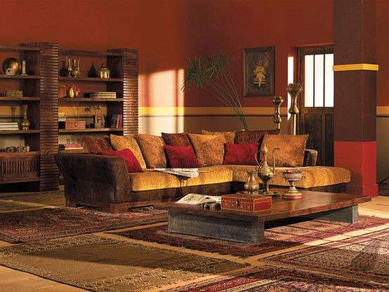 Middle Eastern Living Room Love The Warm Colors And Multiple Rugs Part 46
