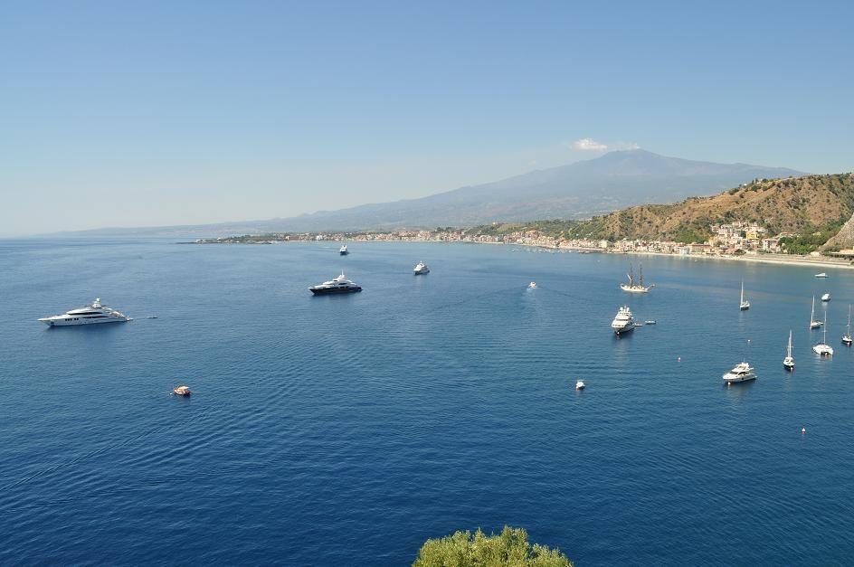 Bay of Giardini Naxos Taormina Vacanza, Sicilia, Vacanze