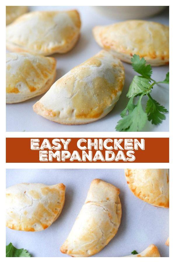 Easy Chicken Empanadas