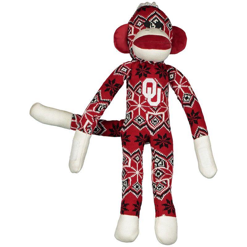 Oklahoma Sooners Ugly Sock Monkey Plush Toy
