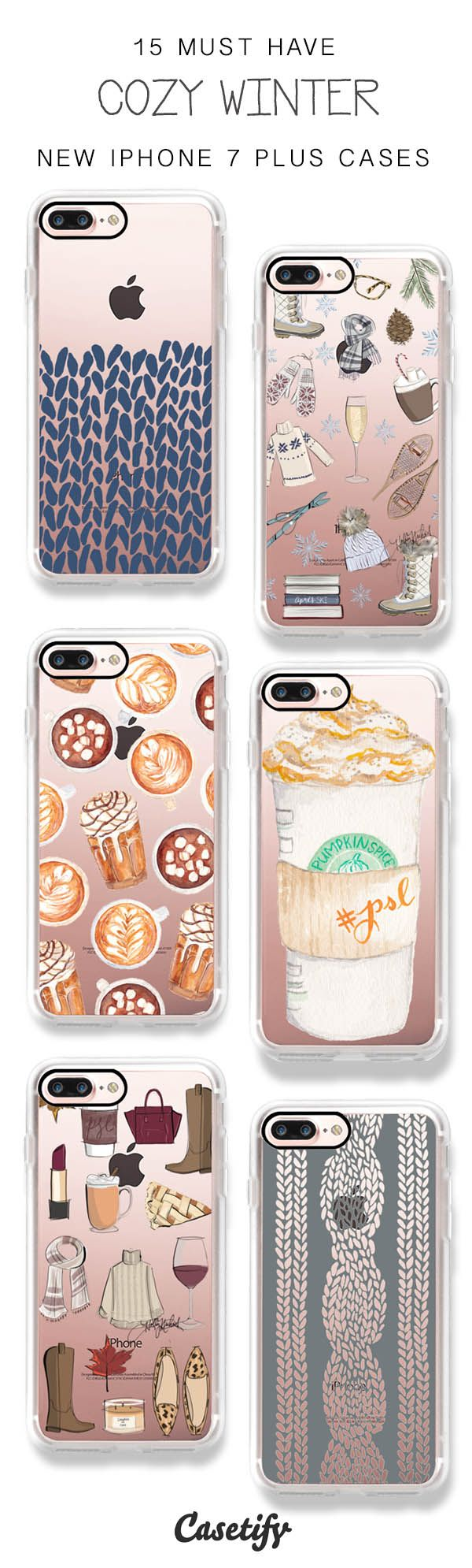 Get Ready for Winter! 15 Must Have Winter Fashionista iPhone 7 / iPhone 7 Plus Phone Cases here >  https://www.casetify.com/artworks/KWU2kRkfbi