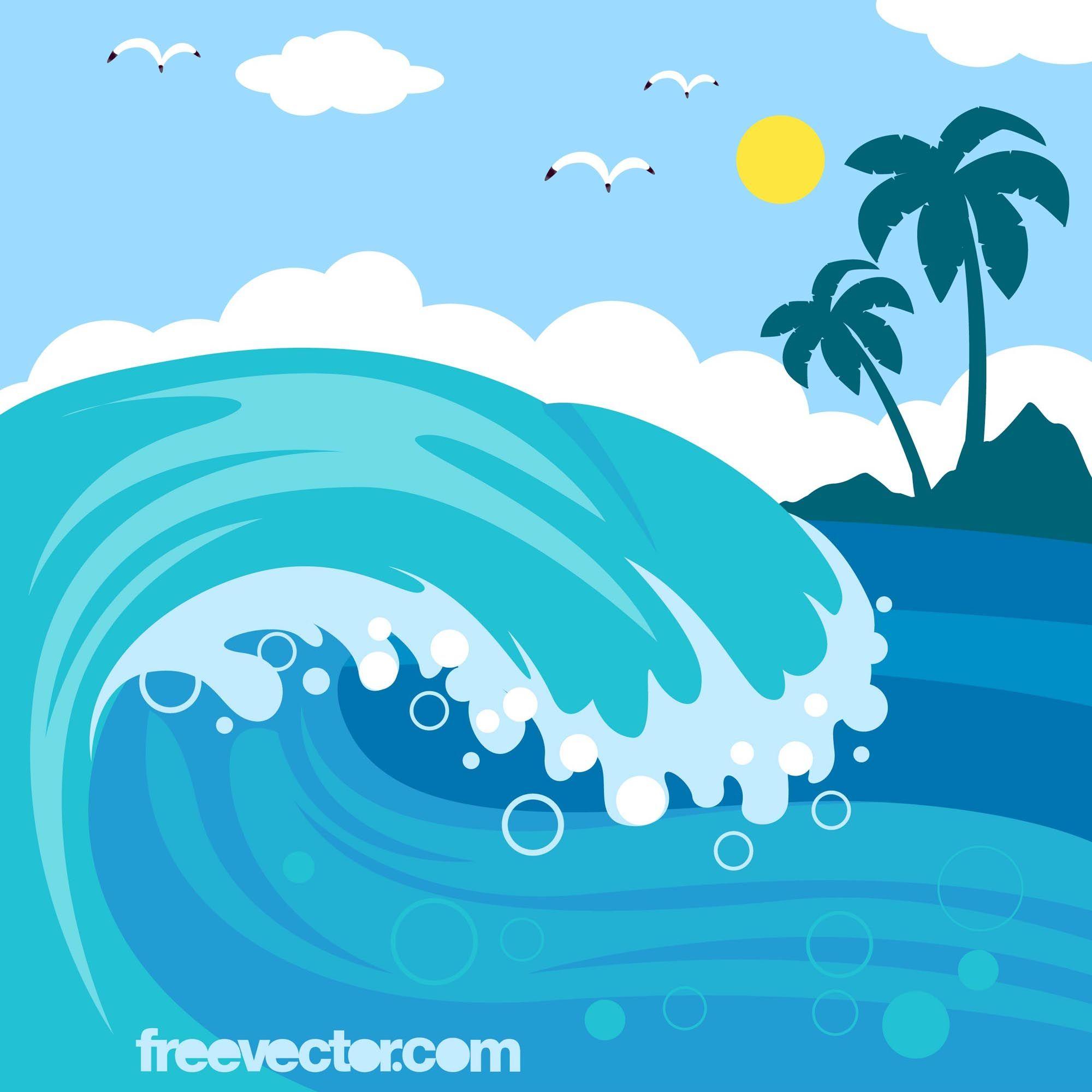 Море картинки для детей нарисованные