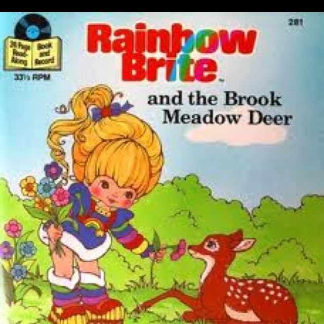 Rainbow Brite Record!! | things I remember | Rainbow brite