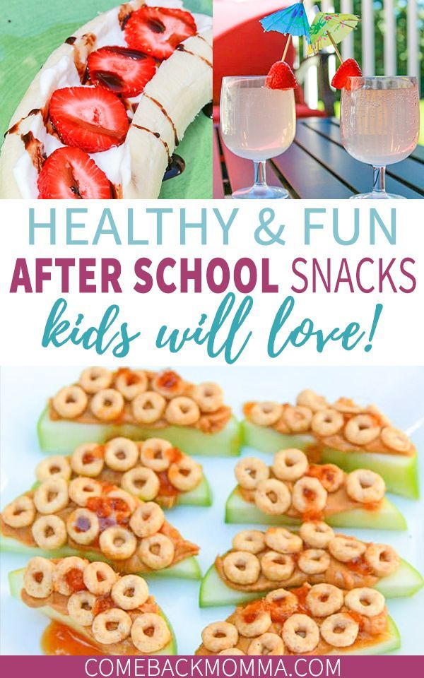 Simple and Healthy Recipes for After School Snacks images
