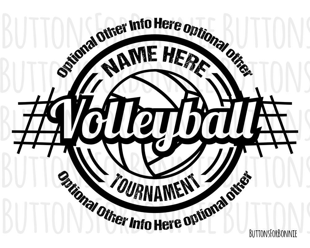 Volleyball Svg Volleyball Logo Volleyball Tournament Etsy Volleyball Tournaments Volleyball Designs Volleyball Workouts