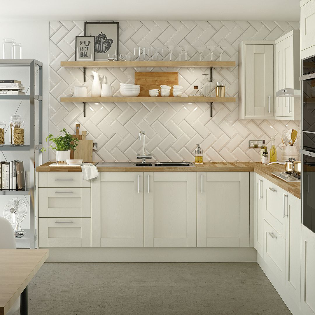 Steam Up A New Kitchen In Your Space With Solid Timber Doors In The Shaker  Style