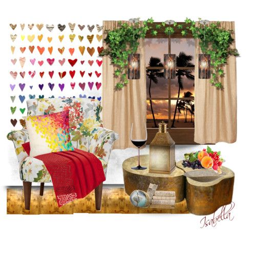 sweet home by katasecret on Polyvore featuring polyvore interior interiors interior design home home decor interior decorating Tech Lighting Riedel Malibu Creations Pacific Coast Dot & Bo Palecek