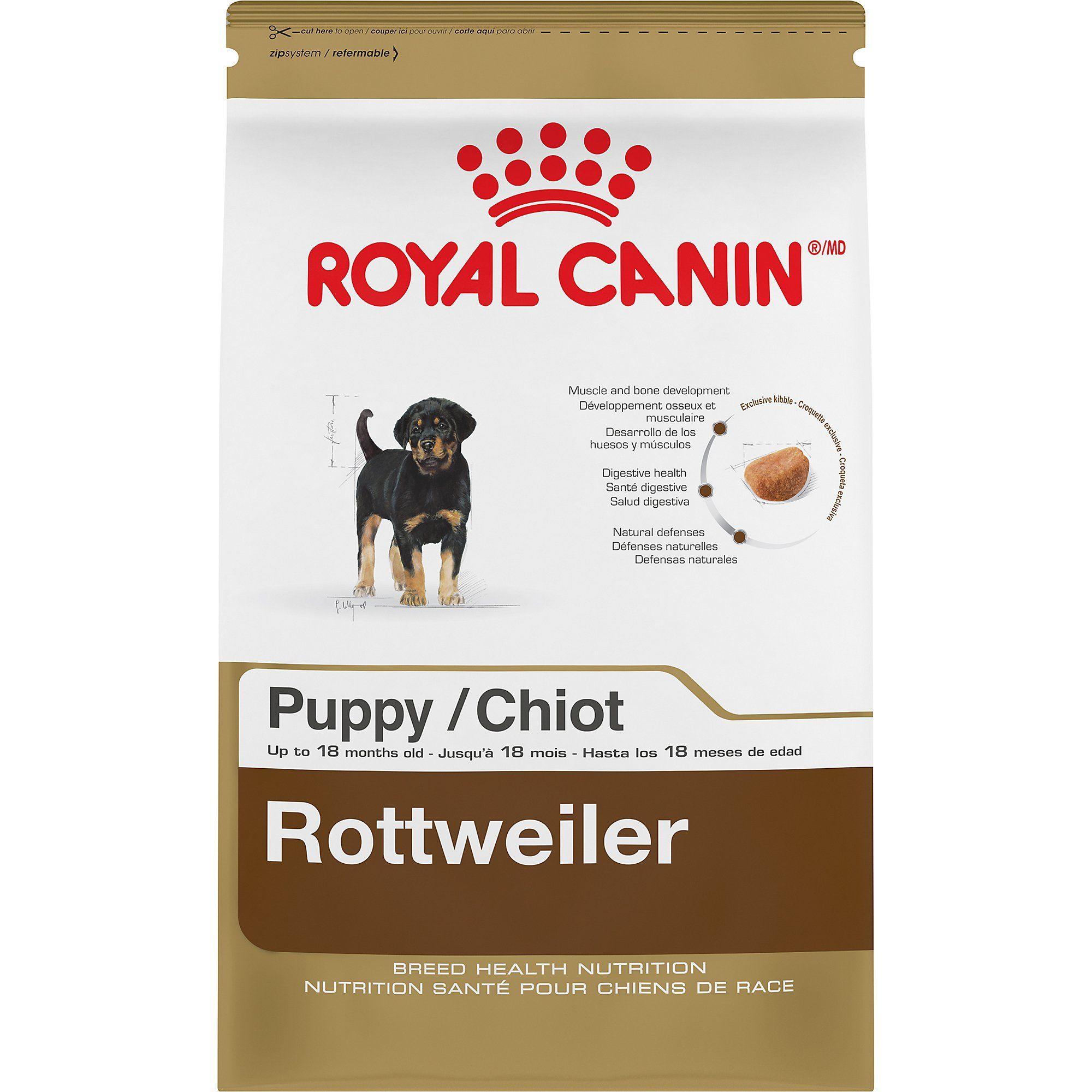 Royal Canin Breed Health Nutrition Rottweiler Puppy Dry Food 30