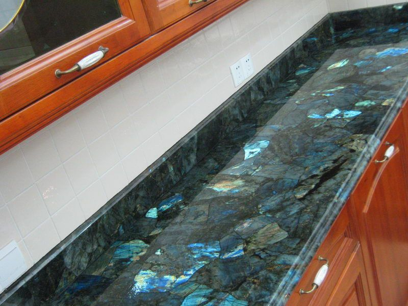 Labradorite Countertops Crystals In The Home Granite Kitchen Floor Colors