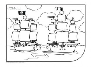 Pirate spot coloring pages ~ Enjoy colouring in these activities! With this printable ...