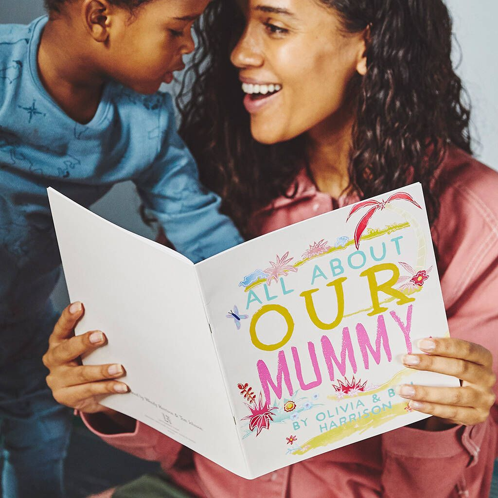All About Mum Personalised Book