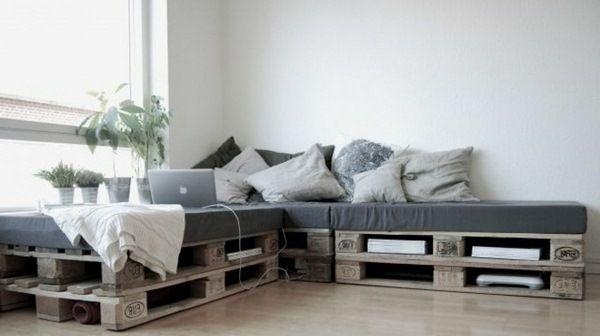 euro pallet furniture corner sofa design beautiful throw europaletten pinterest m bel. Black Bedroom Furniture Sets. Home Design Ideas