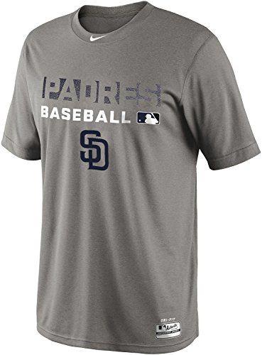 Nike San Diego Padres MLB Mezzo Block AC Dri-Fit Team Iss..