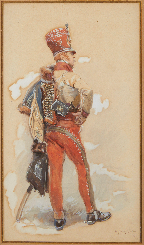 L'aide de camp du Major Général en 1807