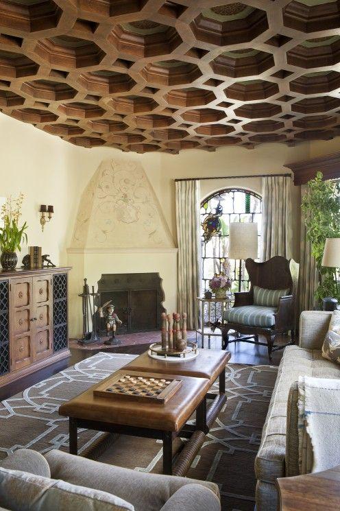 Spanish Colonial Revival Interior Design Los Angeles Interior