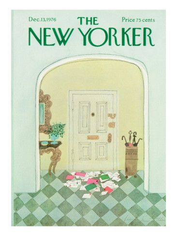 The New Yorker Cover - December 13, 1976 Poster Print  by Laura Jean Allen at the Condé Nast Collection