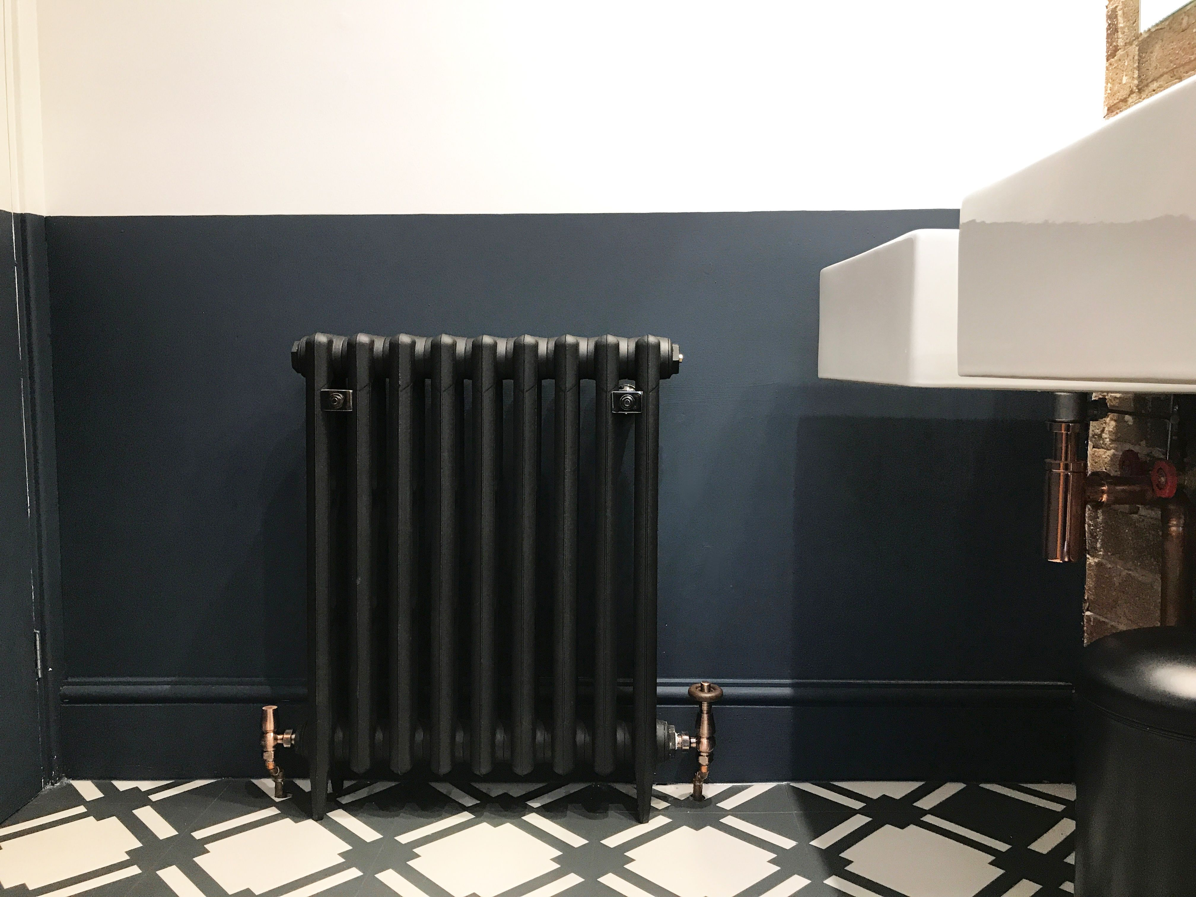 Traditional Victorian 3 Column 745mm Cast Iron Radiator In