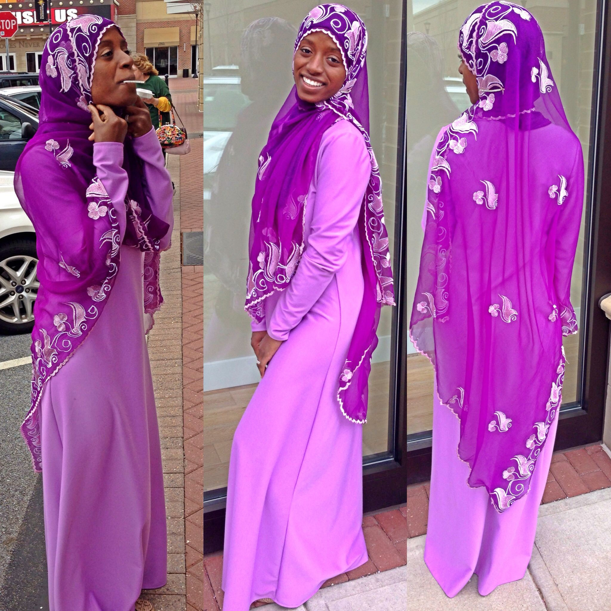 Hijab Muslima Muslimah Style Fashion Hijab Power