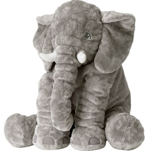 Baby Elephant Pillow Stuffed Toy