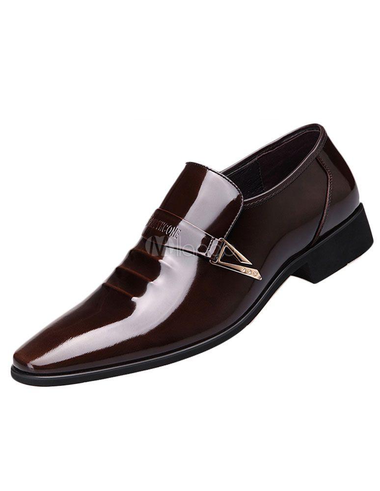 Cordón de hombres vestido zapatos cuero almendra del dedo del pie zapatos Brogue Kqf0K