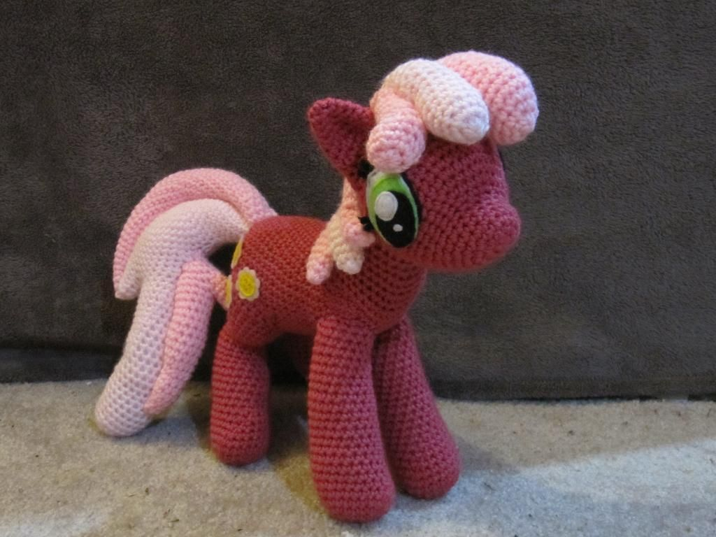 Little Amigurumi Patterns Free : Cheerilee from my little pony pony crochet and amigurumi
