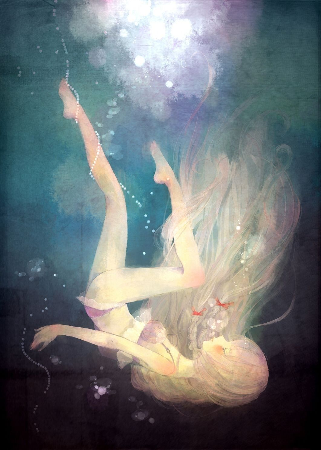 Girl Drowning In Water 青春是一段凛冽刻骨的浮光掠影