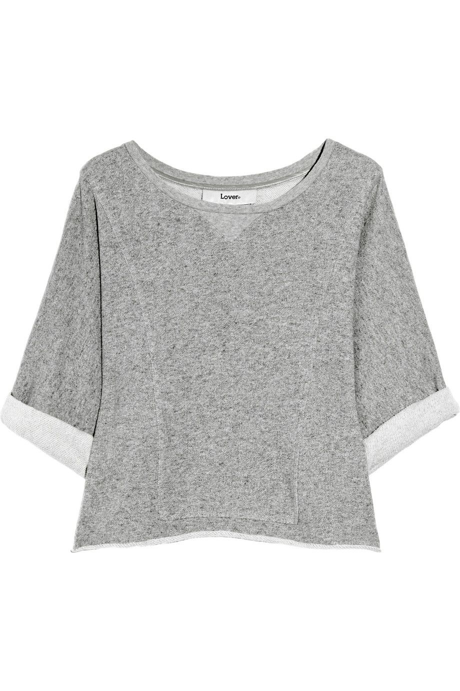 cropped cotton sweater | Loosen up, girl | Pinterest | Cotton ...