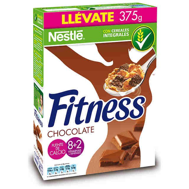 Cereales Fitness Chocolate Nestle Carrefour 38 Gr 3 Puntos