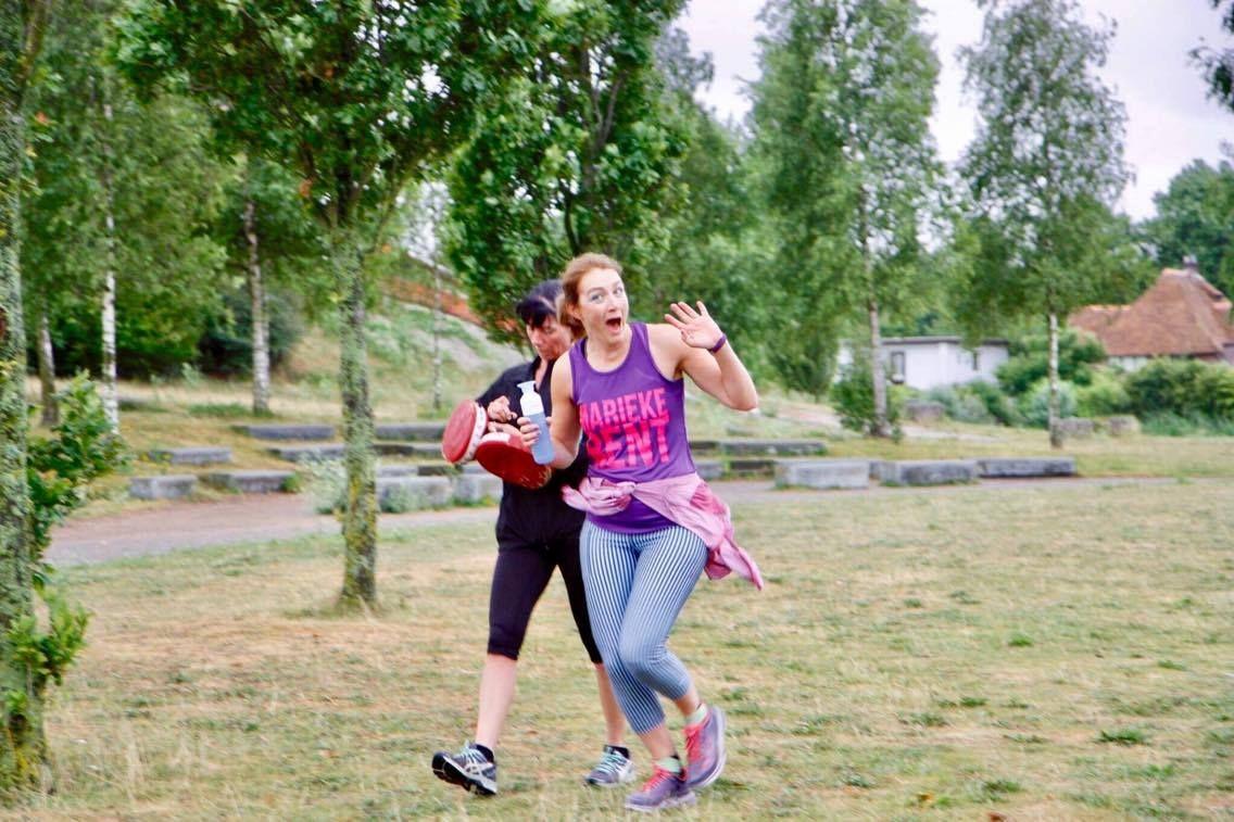 Op Dit Moment Sport Marieke Weinig Tot Niet Haar Gezondheid