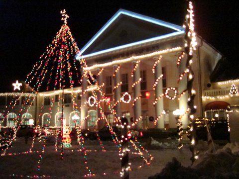 National Elk S Home In Bedford Christmas Time Bedford