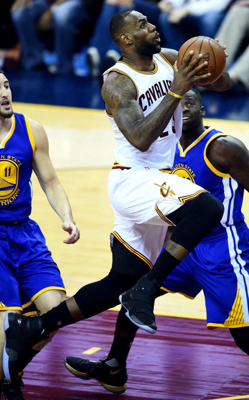 ... wholesale lebron debuted the nike soldier 10 during game 3 of the nba  finals . c71b4 a31ef1577610