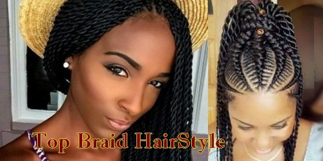 Top Braid Hairstyle For African American Women On Christmas Http Www Hairpediaclub Com Top Braid Hai African Braids Hairstyles Hair Styles Braided Hairstyles