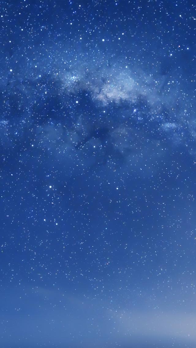 Space From Afar iPhone 5 Wallpaper Pantalla para iphone